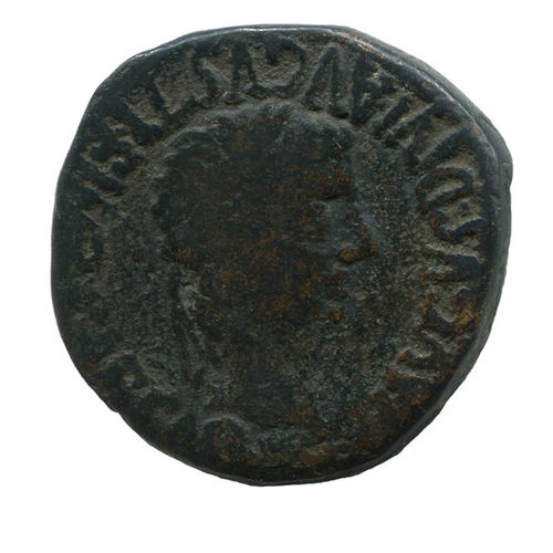 TIBERIUS, 14-37: As, Calagurris (Hispania Citerior/Tarraconensis)